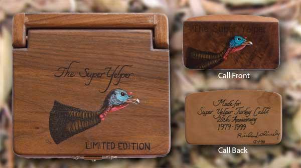 Super Yelper - Scratch Box Turkey Calls